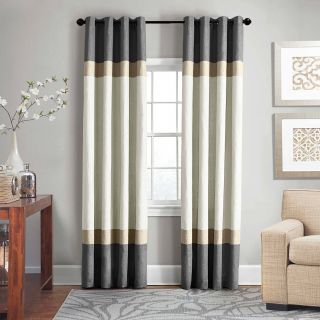 French Door Window Covering Fresh Veratex Brooklyn Colorblock Linen 63 Inch Grommet Window