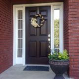 Front Door Painting New Sherwin Williams Raisin Front Door Color Home