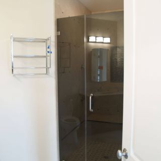 "Frosted Shower Door Glass Unique Frameless Shower Door In 3 8"" Thick Tinted Tempered Glass"