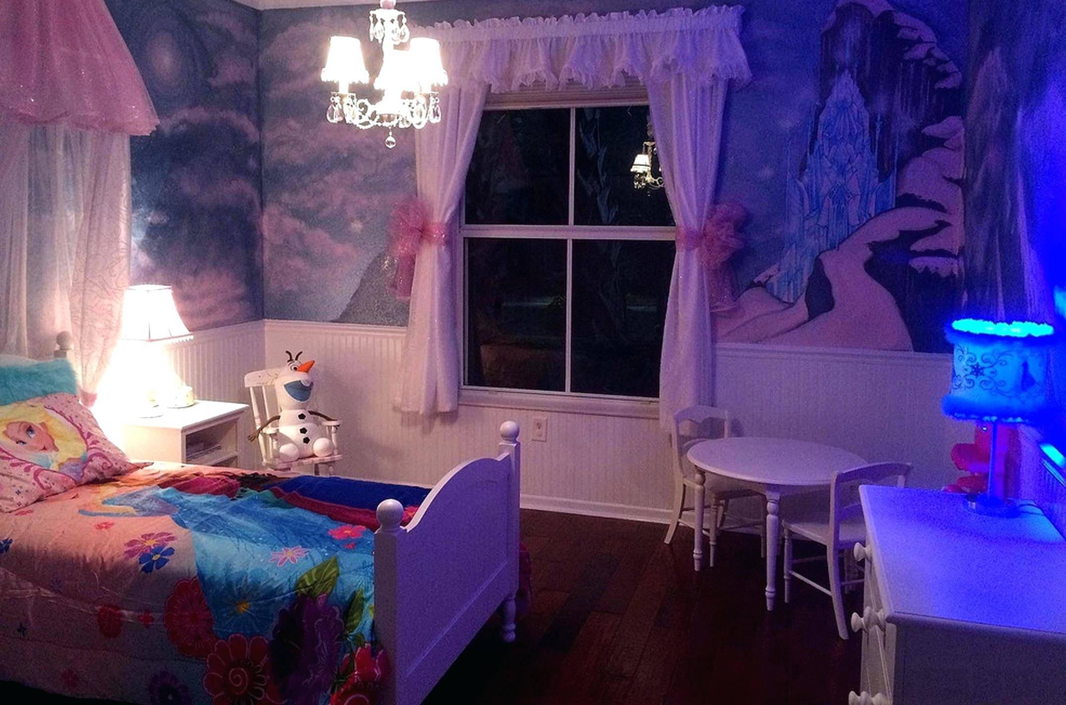 bedroom create the magically frozen ideas for little girls basketball decorating