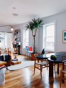 Furnishing A Loft Lovely Behold Big Plants Beautiful Views and Bold Brick In This