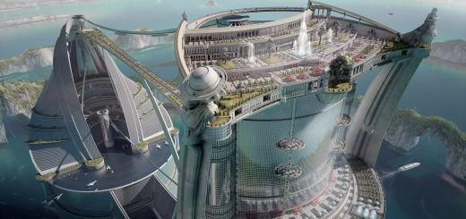 Futuristic Architecture Design Awesome Futuristic Utopia In 2019
