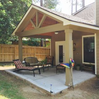 Gabled Roofs Beautiful Gable Roof Patio Cover with Wood Stained Ceiling