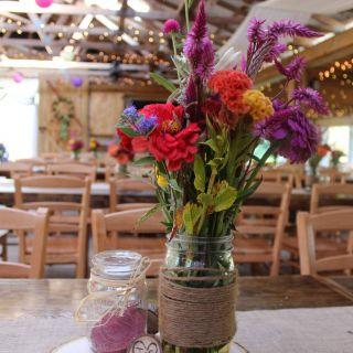 Garden Ridge Wedding Decorations Awesome Bright Colorful Flower Arrangement Khimaira Farm Outdoor