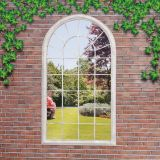 Garden Window Images Elegant Transcontinental Outdoor Suntime Window Style Garden Mirror