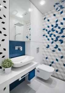 Geometric Tile Designs Awesome A Mid Century Inspired Apartment with Modern Geometric