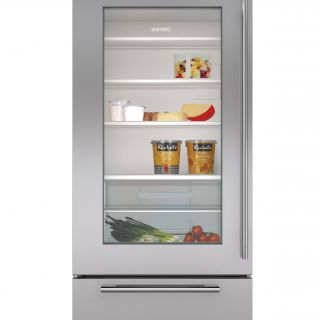 "Glass Door Refrigerator for Home Unique 30"" Classic Over and Under Refrigerator Freezer with Glass"