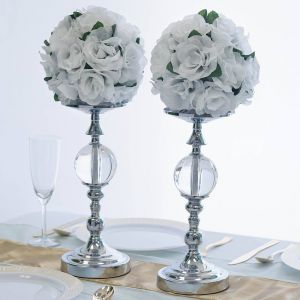 Glass Vases Wedding Decor Beautiful 2 Pack