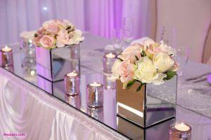 Glass Vases Wedding Decor Inspirational Mirrored Square Vase 3h Vases Mirror Table Decorationi 0d