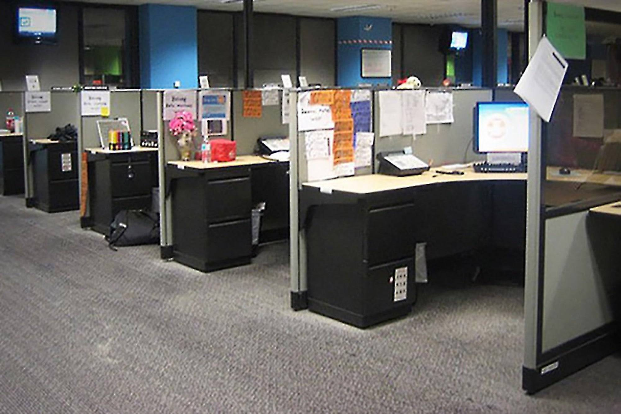 do you need break down cubicle walls improve performance