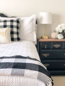 Guest Bed Ideas Unique Adding Buffalo Check to My Guest Room