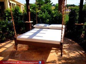 Hanging Outdoor Bed Awesome Bedroom Archaicfair Swinging Bed Diy Pallet Plans Simple