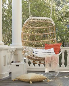 Hanging Outdoor Bed New Serena & Lily Double Hanging Rattan Chair
