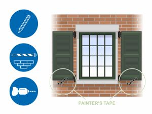 Hanging Shutters Beautiful How to Hang Wood Shutters On Brick 13 Steps with