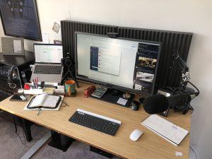 Hidden Computer Desk Beautiful Desk and Fice Setup Summer 2018