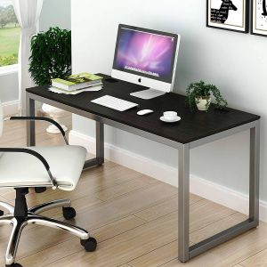 Hidden Computer Desk Luxury Shw Home Fice 55 Inch Puter Desk Espresso