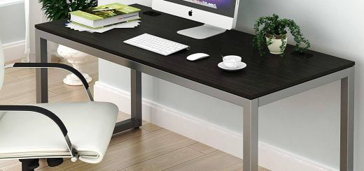 Hidden Computer Desk Luxury Shw Home Fice 55 Inch Puter Desk Espresso