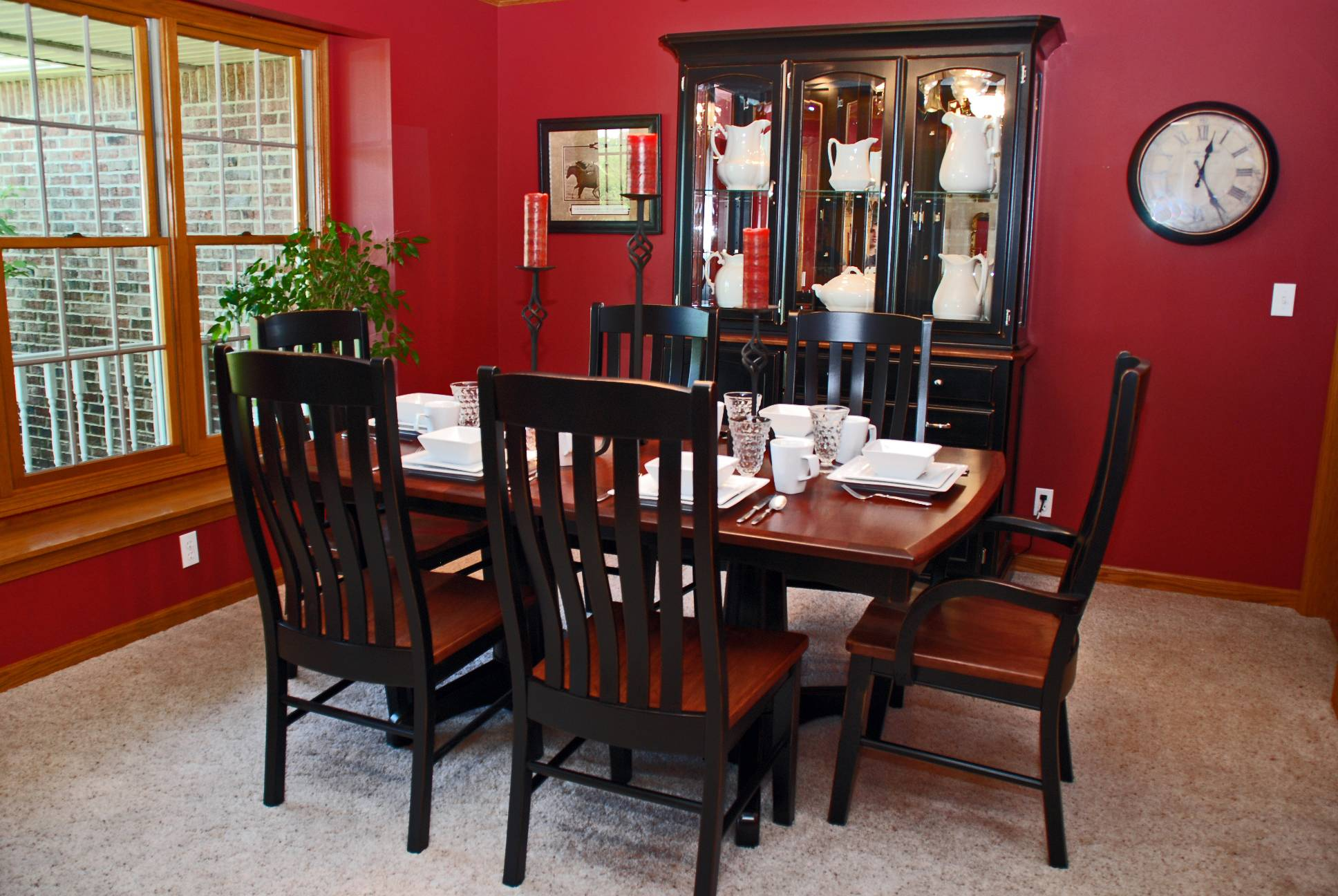 Dining Transitional Black Cherry2