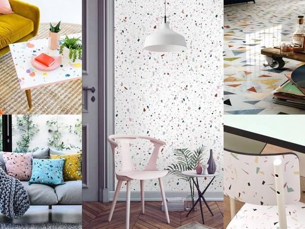 new terrazzo home decoration trends 1