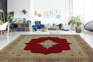 Home Decorators Rugs Clearance Best Of Vintage Red Traditional Design 10x13 Kerman Persian Rug