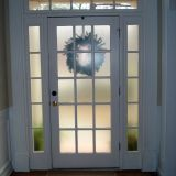 Home Privacy Glass Lovely Frosted Glass Spray E G Krylon or Rustoleum for Front