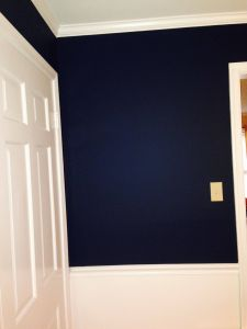 Home theater Paint Colors Inspirational Wall Color is Washington Blue by Benjamin Moore Cw 630 and