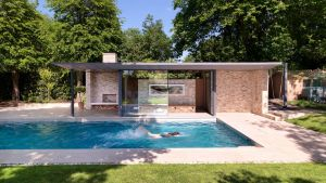 Houses with Indoor Pools Inspirational Threefold Architects Has Pleted A Pair Of Simple Brick