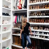 How Big Does A Walk In Closet Need to Be Luxury My Closet Reveal organization