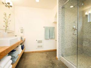 How to Clean Bathroom Tile Floor Fresh Concrete Bathroom Flooring