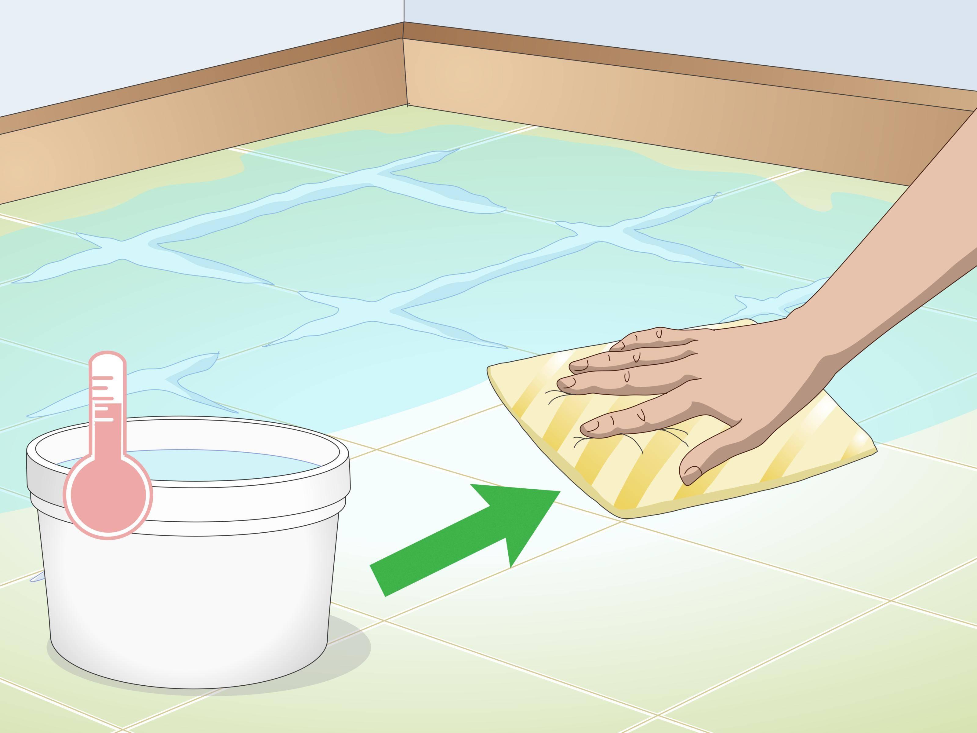Clean Tiles Step 15