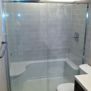 How to Keep Bathtub Clean New Tile Shower & Tub to Shower Conversion Bathroom Renovation