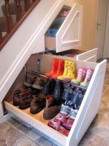 How to Make Use Of Space Under Stairs Inspirational Under Stairs Storage for the Home