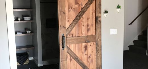 Ideas for Finishing Basement Awesome Rustic Modern Basement Finish Basement Bathroom Door