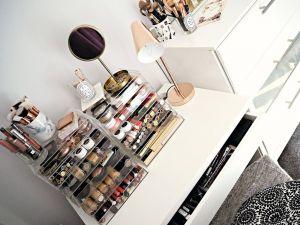 Ikea Makeup organizer New My Makeup Collection Jasmine Talks Beauty