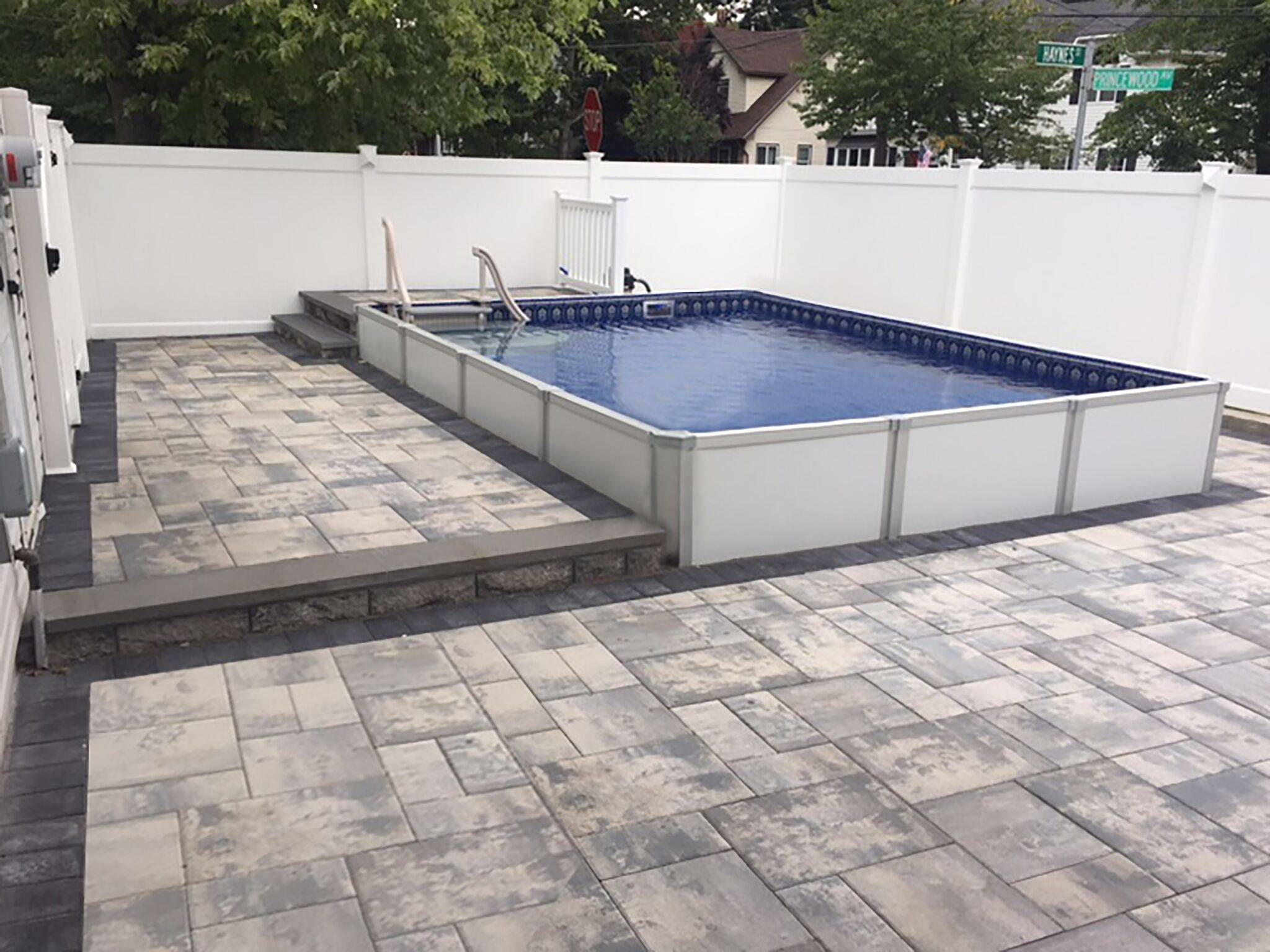 HERCULES POOL Installed 1