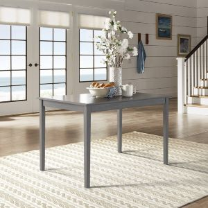 Inch Decorator Table Beautiful Wilmington Ii 48 Inch Rectangular Dining Table by Inspire Q Classic