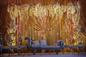 Indian Wedding House Decorations Unique Yanni Design Studio Created their Signature Stunning Drapery