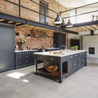 Industrial Kitchens at Home Luxury Industrial Style Kitchen
