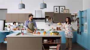 Industrial Kitchens at Home Luxury Modular Kitchens and Wardrobe Designs In India