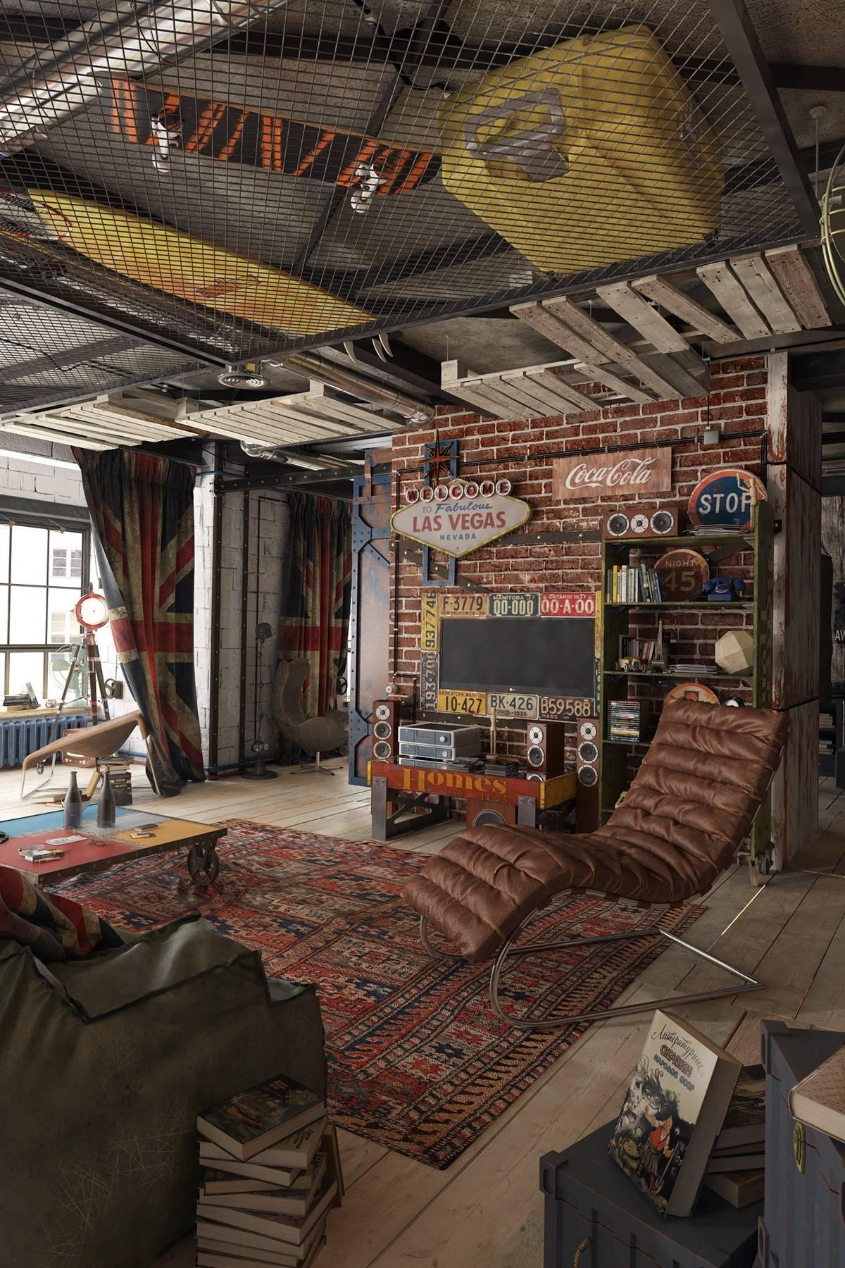 apartment loft decor ideas awesome 2 loft ideas for the creative artist of apartment loft decor ideas