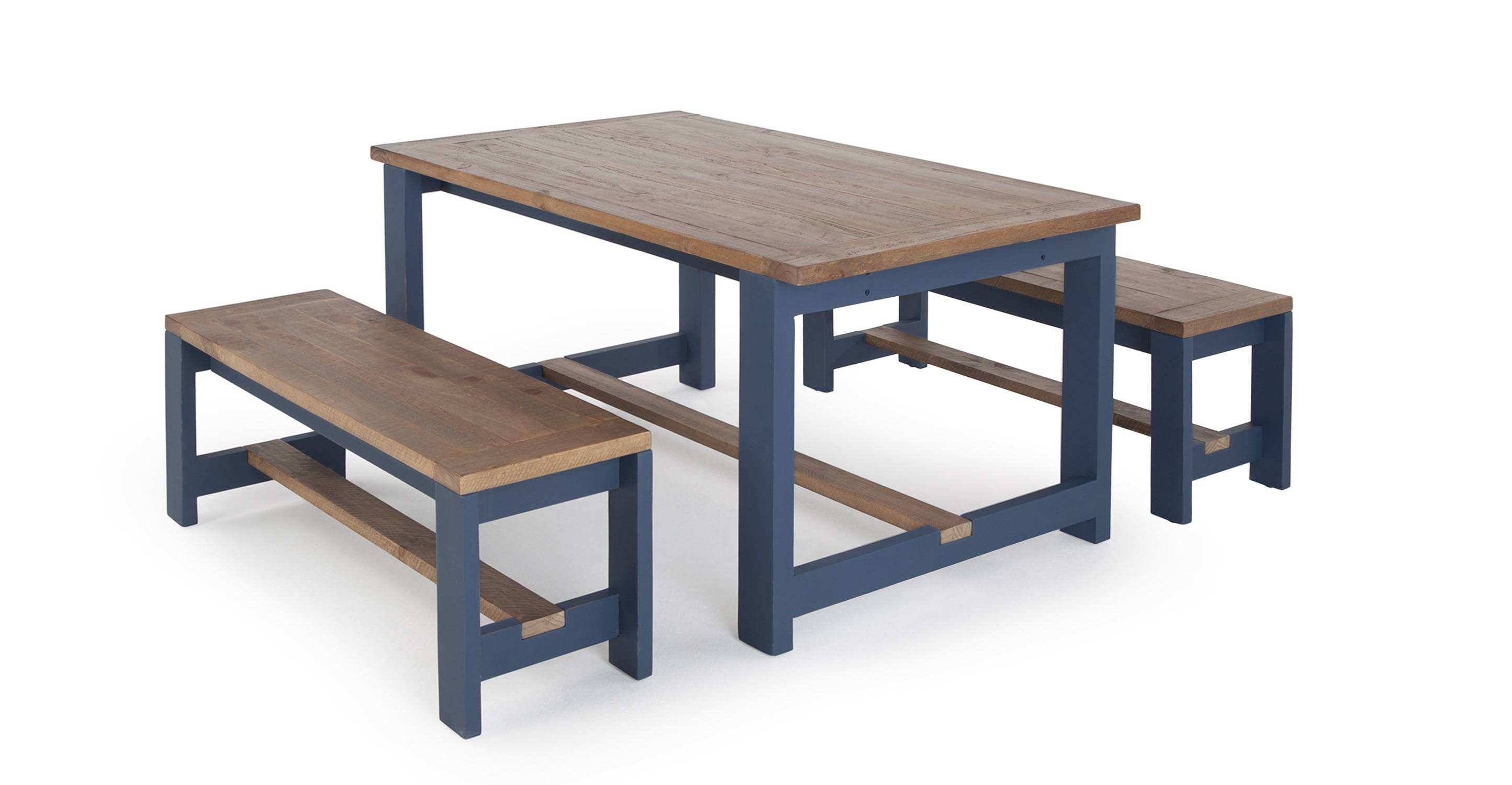 bench table beautiful bala table and bench set solid wood and blue of bench table