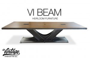Industrial Steel Table Unique Vi Beam Small Conference In 2019