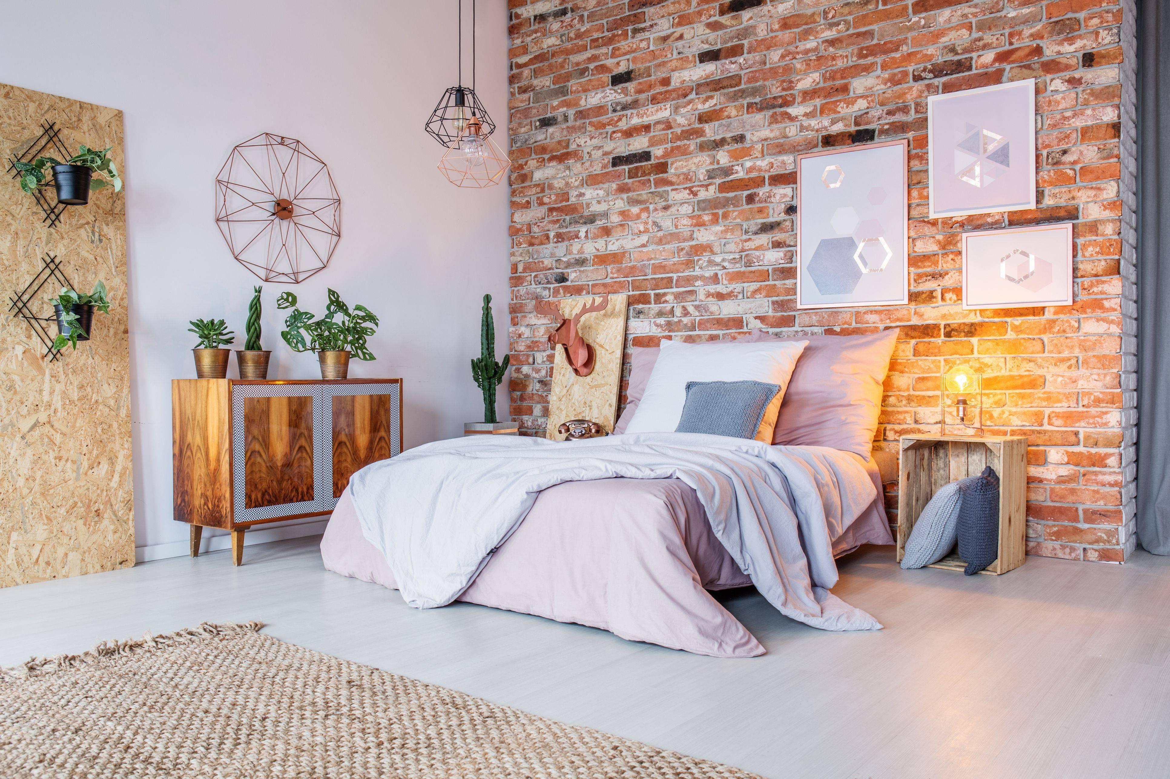 bright bedroom with brick wall 5abcfc2e0e23d bc7c40