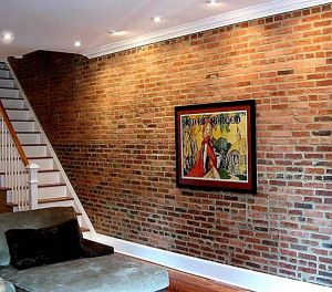 Interior Brick Wall Paint Ideas Luxury Faux Brick Wall Really if that S Truly Fake Brick then