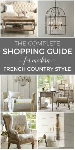 Interior Design Styles Guide Unique Shop My Favorites French Country Style In 2019