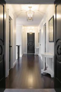 Interior Doors Painted Black Luxury Hallway Makeover Reveal