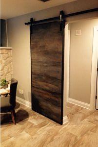 Interior Sliding Barn Doors Elegant Horizontal Custom Sliding Barn Door with Metal Trim