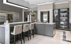 Kitchen Wine Cellar Awesome Kitchen In Contemporary House England