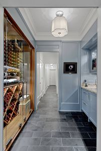 Kitchen Wine Cellar Best Of Custom Wine Cabinet In Chicago Has Full Height Glass Doors