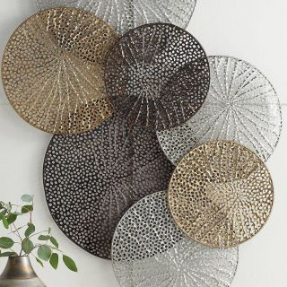 Large Decorative Metal Spheres Unique Adele Metal Wall Art In 2019